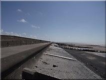 SD3147 : Promenade, sea wall and groynes by Philip Platt