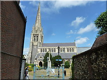 TQ1649 : St Martin's (at the end of a path from the High Street) by Basher Eyre