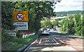 NZ8606 : Sleights village limits by Pauline E