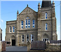 SE3903 : Wombwell - former Methodist church - Barnsley Road frontage by Dave Bevis