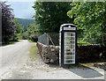 NC2939 : Achfary Phone Box by Mary and Angus Hogg