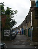 TQ2475 : Kings Arches, Putney Bridge Road by Eirian Evans