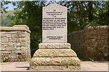 SK1789 : Tip the Sheepdog Memorial, near Derwent Dam by Peter Tarleton