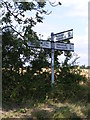 TM3070 : Roadsign on Low Street by Adrian Cable