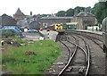 NO6060 : Brechin railway station, Angus by Nigel Thompson