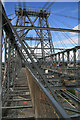 ST3186 : Newport Transporter Bridge - west tower by Chris Allen