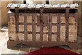TL8559 : All Saints, Hawstead - Parish chest by John Salmon