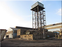 ST2176 : Water tower, Tremorfa steelworks by Gareth James