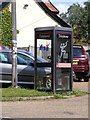 TM1083 : Telephone Box on Common Road by Adrian Cable