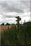 SK2139 : Footpath meets bridleway by Graham Hogg
