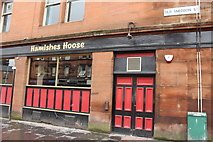 NS4864 : Hamishes Hoose, Paisley by Billy McCrorie