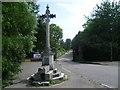 TQ2263 : Column at entrance to Nonsuch Park by Marathon