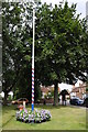 SP4871 : Maypole in Dunchurch by Philip Halling