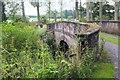 NT6231 : Bridge to an island in the Tweed, Mertoun by Jim Barton
