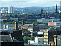 NS5864 : Glasgow rooftops by Thomas Nugent