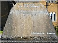 SJ8499 : St Chad's War Memorial (base) by David Dixon