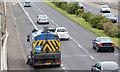 J3775 : Road sweeper, Belfast by Albert Bridge