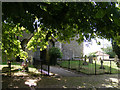 TM1083 : Entrance to All Saints Church, Selfanger by Geographer
