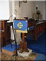 TM1083 : Lectern of All Saints Church by Adrian Cable