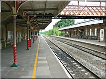 ST9897 : Platform 2, Kemble Railway Station, Kemble by Brian Robert Marshall