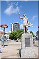 ST5872 : Statue of Neptune by Philip Halling