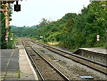 ST9897 : North from Kemble Railway Station, Kemble by Brian Robert Marshall