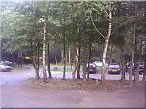 TQ1462 : Car Park on Esher Common overlooking Copsem Lane by David Howard