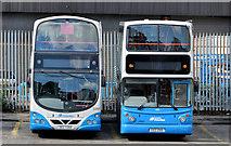 J3373 : Gt Victoria Street bus depot, Belfast (2013-2) by Albert Bridge