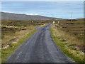 NF9273 : The Loch Portain road by John Allan
