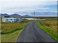 NF9272 : Caravans at Loch Portain by John Allan