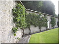 NY9923 : Garden wall at Eggleston Hall by Stanley Howe