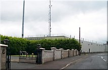 H9115 : Crossmaglen's PSNI barracks by Eric Jones