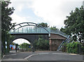 SK5939 : The new footbridge at Trent Lane by John Sutton