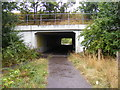TM1242 : Footpath  & Cycleway to Copdock Park & Ride by Adrian Cable