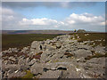 NY9628 : Gritstone outcrops, Monk's Moor by Karl and Ali