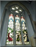 TQ1649 : St Martin, Dorking: stained glass window (G) by Basher Eyre