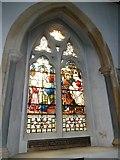 TQ1649 : St Martin, Dorking: stained glass window (K) by Basher Eyre