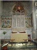 TQ1649 : St Martin, Dorking: altar (i) by Basher Eyre
