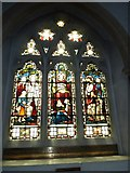 TQ1649 : St Martin, Dorking: stained glass window (R) by Basher Eyre