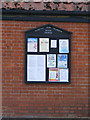 TG2902 : Apington & Yelverton village notice board by Adrian Cable