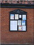 TG2902 : Apington & Yelverton village notice board by Adrian Cable
