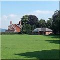 SO2972 : Knighton Cricket Club pavilion by Jaggery