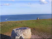 SX9456 : Berry Head Toposcope by Gordon Griffiths