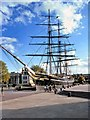 TQ3877 : The Cutty Sark (1981) by David Dixon