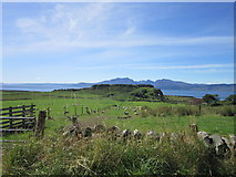NS0853 : Dunagoil fort, Bute by Ian S