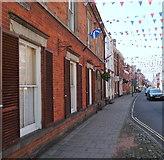 SK1846 : St John's Street, Ashbourne, Derbys. by David Hallam-Jones