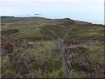 NR6106 : Fence on Mull of Kintyre by Alan Bowring