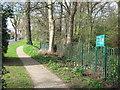 SP0481 : Wildlife refuge in suburbia 1-Bournville, Birmingham by Martin Richard Phelan