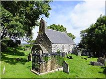 SC3278 : St Runius Church, Marown by Richard Hoare