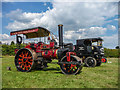 TL2902 : Vintage Commercial Vehicle and Steam Engine, Cuffley Steam and Heavy Horse Event by Christine Matthews